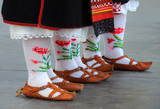 Bulgarian National Shoes and Socks