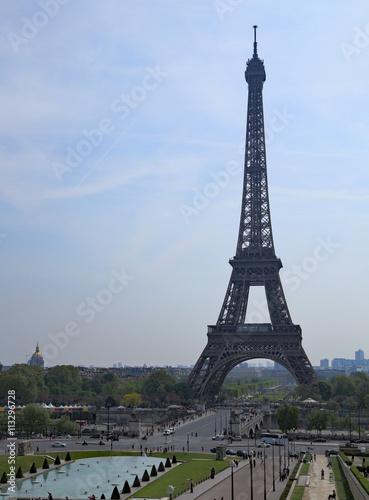 Poster Tour Eiffel et Tocadéro