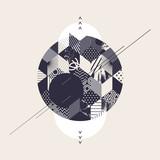 Fototapety Abstract modern geometric background