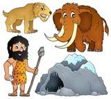 Prehistoric theme set 2