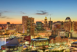 Baltimore, Maryland Cityscape