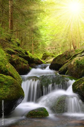wodospad-na-gorskim-potoku-w-parku-narodowym-sumava-czechy