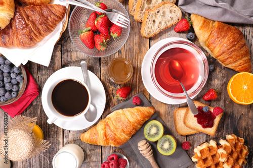 coffee cup,teacup and breakfast © M.studio