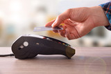 Payment on a trade through contactless card and NFC technology