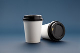 Mockups cups for coffee