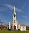 Rural Church, Midwest, Ohio, near Akron, USA