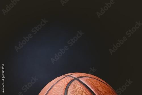 Fotobehang Basketbal Close up of basketball