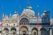 Quadro Saint Mark's Basilica viewed from the Piazza San Marco