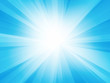 blue white ray background