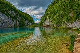 Scenic Plitvice Lakes National Park view