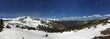 Snow Capped Mountains Panorama