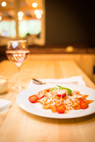 farfalle with tomatoes