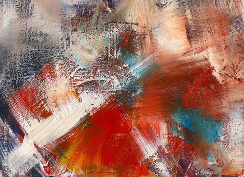 Fototapety, obrazy : paintings, background, textured, abstract, wallpaper, acrylic, v