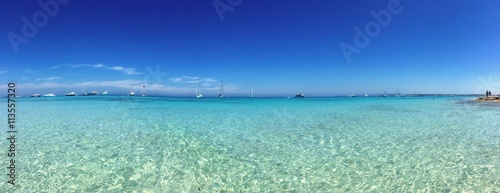 Awesome beach in Formentera