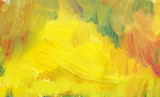 yellow abstract texture aol paind. hand drawn testure - 113597909