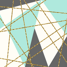 Abstrakte geometrische Komposition