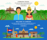 Cambodian Culture 2 Horizontal Banners Set