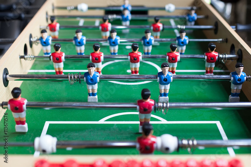 Poster table football