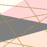 Fototapety Abstract Geometric Composition