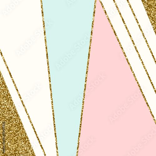 Fototapeta Abstract Geometric Composition