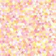 abstract background consisting of small pink, yellow, white triangles