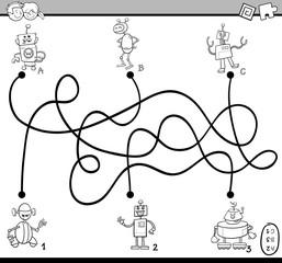 maze activity coloring book