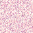 abstract background consisting of small pink, white triangles