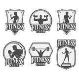 fitness club icon