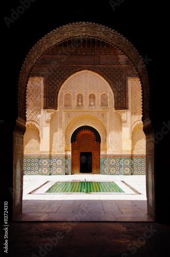Marrakesh palace Poster