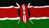 Kenyan Flag HD Background - Flag of Kenya 3D Illustration