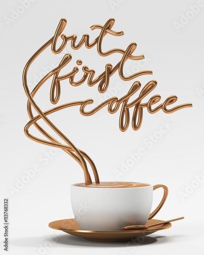 ale-pierwsza-kawa-cytat-z-kubkiem-plakat-typograficzny-dla-kartka-z-pozdrowieniami-drukow-lub-domowych-dekoracj-3d-odplaca-sie-3d-ilustracje