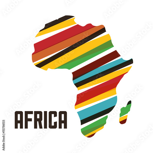 Shape Of Africa Map.Africa Design Map Shape Icon Vector Graphic Buy Photos Ap