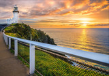 Sunrise at Cape Byron. Horizontal Frame.