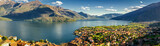 Gravedona and Lago di Como high definition panorama - 113809511