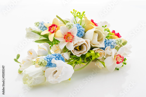 obraz PCV Beautiful spring flower bouquet