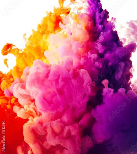 fototapeta na ścianę Abstract paint splash background
