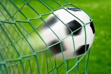 fototapeta bramka do piłki nożnej, z pełnym dynamicznym efektem