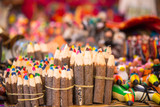 Craft colored pencils at market