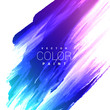 colorful bright ink stain vector design