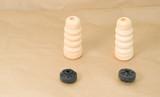 bumper rubber bushing absorber rear