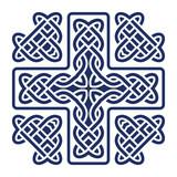 celtic knot cross vector