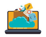 Web hosting and cloud computing
