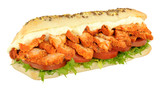 Chicken Tandoori Sandwich Sub Roll