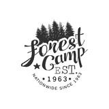 Nationwide Forest Camp Vintage Emblem