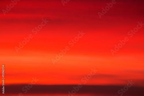Plexiglas Rood Orange sunset