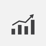 growing chart icon