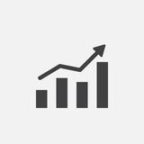 growing chart icon