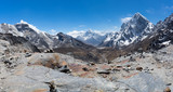 Panoramic view from Chola pass