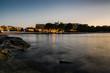 coucher de soleil à Ibiza, Espagne.