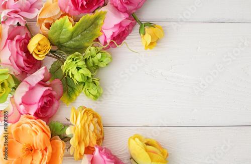 Zdjęcia na płótnie, fototapety, obrazy : floral frame